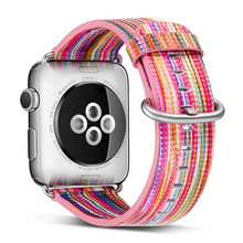 Genuine Leather Watch Sport band Loop For Apple watch, VIOTOO Colorful Strap 4 Band