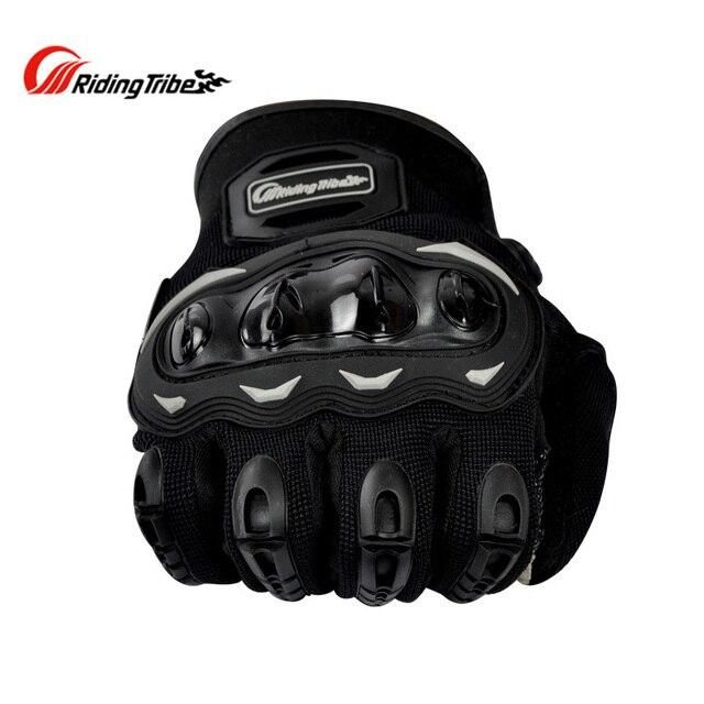 Luvas de motocicleta com toque sensível a tela, luvas de moto queiro guantes 6