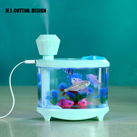 460ML USB Humidifiers With LED Night Light Air Ultrasonic Humidifier Essential Oil Aroma Diffuser Mist Maker