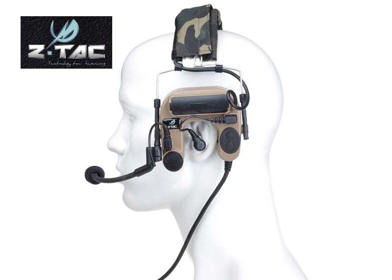 Z-TAC ZCOMTAC IV In-The-Ear Tactical Noise Reduction Headset+Free shipping(Z060015) рулевая колонка fsa orbit z 1 5 reduction blck