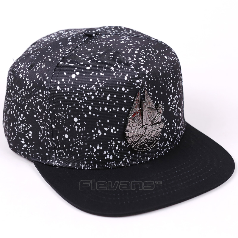 Adjustable Casual Men&Women Baseball Cap Star Wars Millennium Falcon Adult Fashion Snapback Hats Cap Hip-Hop Hats baseball cap men s adjustable cap casual leisure hats solid color fashion snapback autumn winter hat