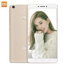 """D'origine Xiaomi Mi Max Pro 3 GO de RAM 64 GB ROM Smartphone Mimax 6.44 """"Snapdragon 652 Octa base 4G LTE Mobile Téléphones D'empreintes Digitales ID"""