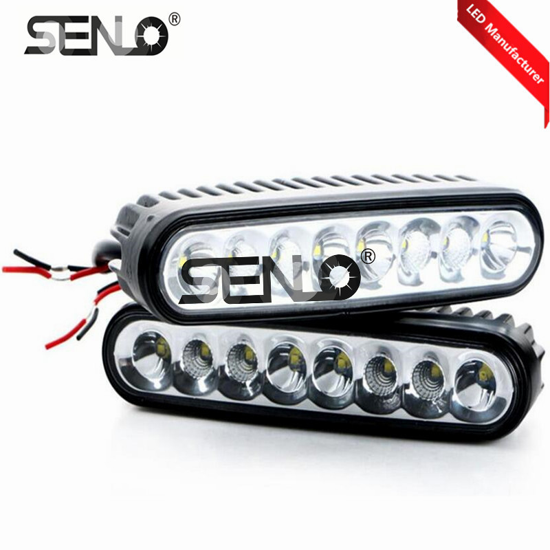 2pcs TURBRO led Boat light 40W OSRA M Combo LED Work Light Off-road Light Bar Spreader L ...