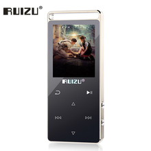 High Quality All Metal MP4 Player 8G Original RUIZU D01 Touch Screen Video Pedometer Voice Recorder E-Book Radio Music Player