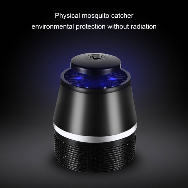 Led Elektrische Muggen Killer Lamp Oplaadbare Ultraviolet Pest Catcher Trap Zapper Voor Huis Tuin GHS99