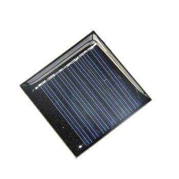 BUHESHUI 0.25W 3.5V Mini Solar Cell Module DIY Solar Panel Polycrystalline For Led Light 45*45mm  Epoxy 1000pcs/lot Wholesale