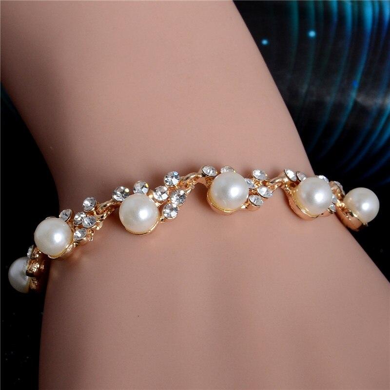 Charm Crystal Cubic Bracelet