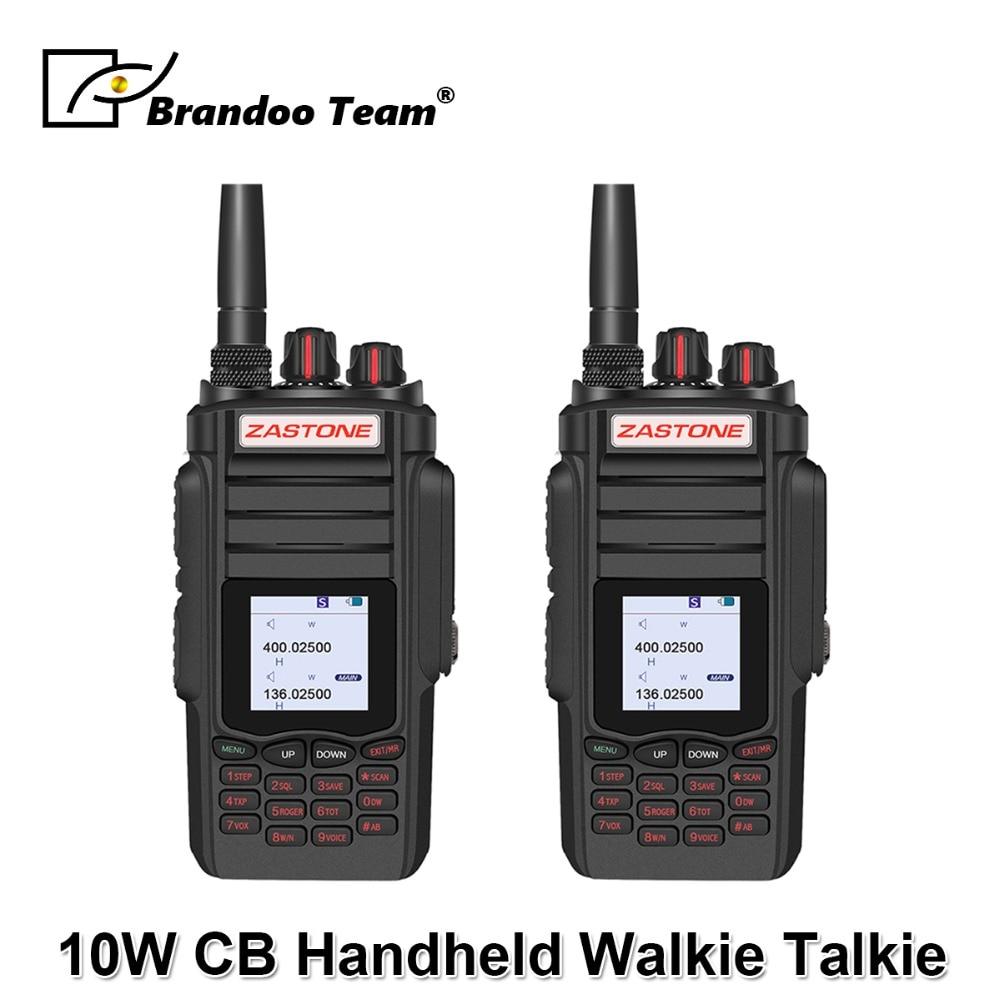 2PCS Professional Two way Radio Portable Walkie Talkie UHF VHF 10W Radio 2800mAh 999CH Ham Radio Communicator2PCS Professional Two way Radio Portable Walkie Talkie UHF VHF 10W Radio 2800mAh 999CH Ham Radio Communicator