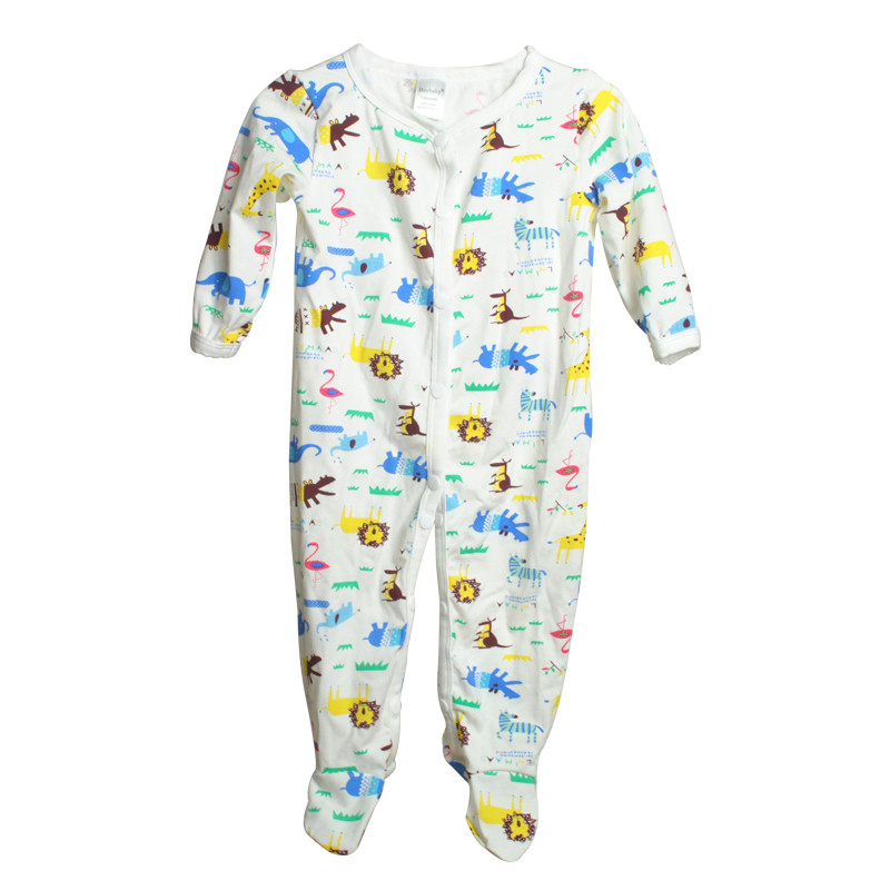 Brand Newborn Baby Clothes Cute Cartoon Baby Costume Girl Boy Jumpsuit Clothing Spring Autumn Cotton Romper Body Baby Clothes 21