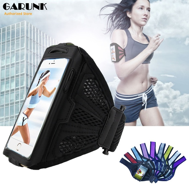Universal sport cubierta del brazal del caso para samsung s3 s4 s5 para iphone 6 6 s gimnasio correr accesorios brazo de pounch holder cinturón bolsa de capa