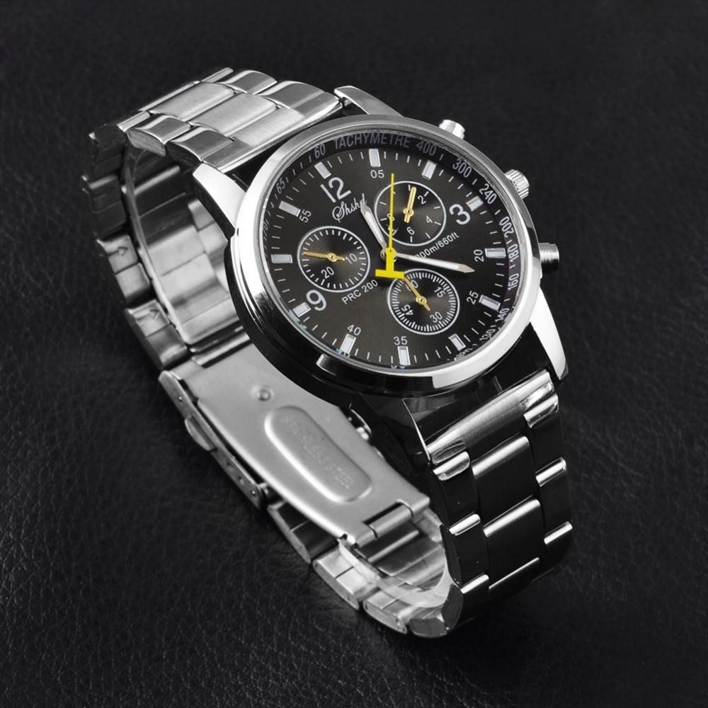 Geneva Relogio Masculino Men Watches Luxury Famous Top Brand Men's Fashion Casual Dress Watch Military Quartz Wristwatches Saat