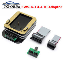 EWS-4.3 4.4 ic adaptador para bmw (não há necessidade de ligação fio) a bordo de leitura para xprog/ak90/r270/r280 plus programador ews4 ic adaptador