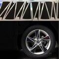3D Fibra de Carbono Aro Da Roda Do Carro Decal Adesivo para Hyundai Avante Elantra 2012 2013 2014 2015 2016 Frete Grátis