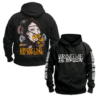 Bring Me The Horizon Hoodie Rock The Trooper Heavy Metal Black Oliver Sykes Death Metal Metalcoreblack