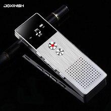 8 gb mini flash gravador de voz digital ditafone mp3 leitor de música gravador de voz suporte tf cartão embutido alto-falante