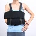 Frete Grátis Medical Ajustável Ombro Estilingue do Braço Faixa Brace Reforçado Imobilizador Braço Quebrado Fratura Luxação Do Ombro