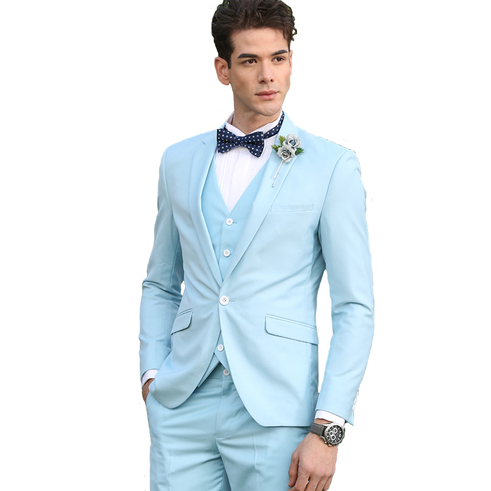 Cajerin Polyester Men\'s Clothing England Style Wedding Men Suit ...