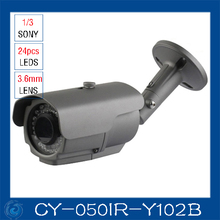 Best price color ir camera 700 TV L security sensor cctv camera.CY-050IR-Y102B