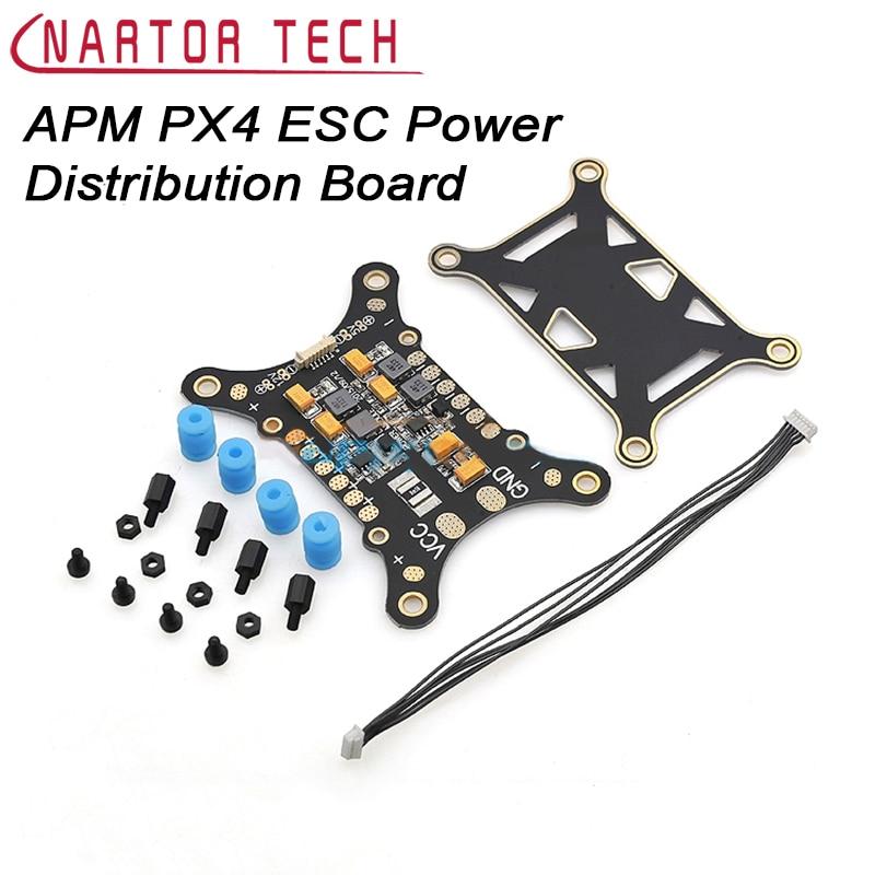 все цены на  APM PX4 5 in 1 PDB Shock Absorber Integrated Power Module ESC Power Distribution Board 5V & 12V BEC  онлайн