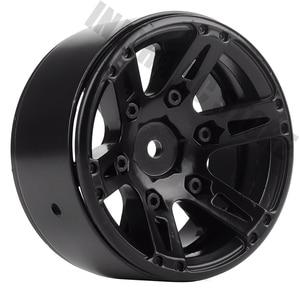 Image 5 - 4PCS Metal Wheel Rim 1.9 Inch BEADLOCK for 1/10 RC Rock Crawler Axial SCX10 90046 AXI03007 TAMIYA CC01 D90 TF2 Traxxas TRX 4