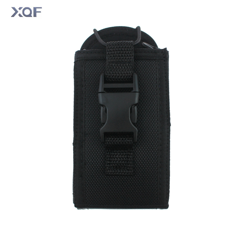 Two Way Radio Pouch Bag Holster Case For Icom Motorola Kenwood Yaesu Midland Baofeng  Walkie Talkie (Big Size)