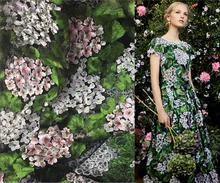 5style Stereo 3d soluble leaves Polyester embroidery Mesh lace fabric Plant flower wedding dress costume DIY patches fabric A048