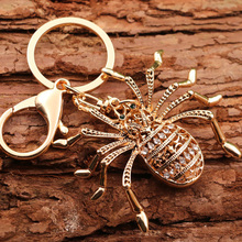 High Quality Alloy Spider Necklaces & Pendants for Women Crystal Long Sweater Chain Necklace Fashion Jewelry stylish pea clips beads alloy sweater chain for women