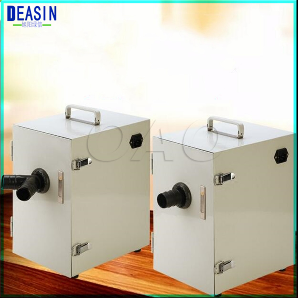 цена Dental Equipment Lab Laboratory Numerical control double leaf pulley Dust Collector Vacuum Cleaner JT-26B for Dental Laboratory