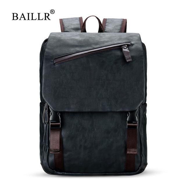 BAILLR Brand Stylish Men Large Capacity Bag Travel Laptop Backpack ...
