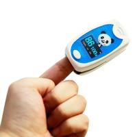 STRIKATE Child Fingertip Pulse Oximeter Fingertip Classical SPO2 PR Pediatric OLED Blood Oxygen Saturation Pulse Oximeter