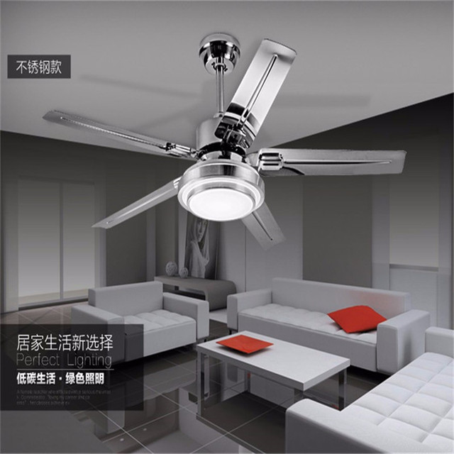 Ceiling Fan light Modern LED adjustable light ceiling fan light fashion iron simple ceiling lamp 42/52 Inch ceiling fan
