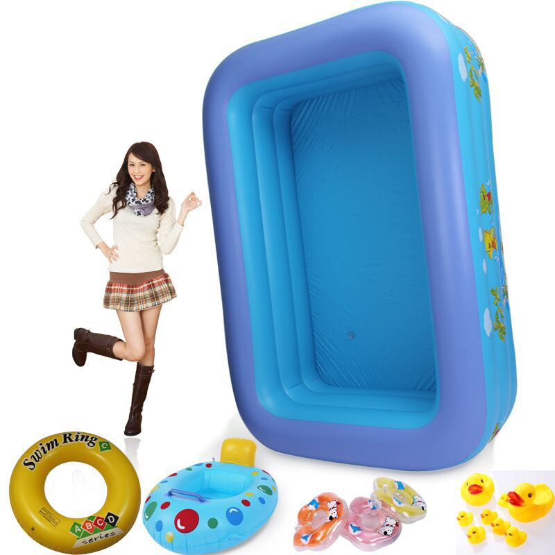 260cm High quality beightening thickening super large inflatable swimming pool