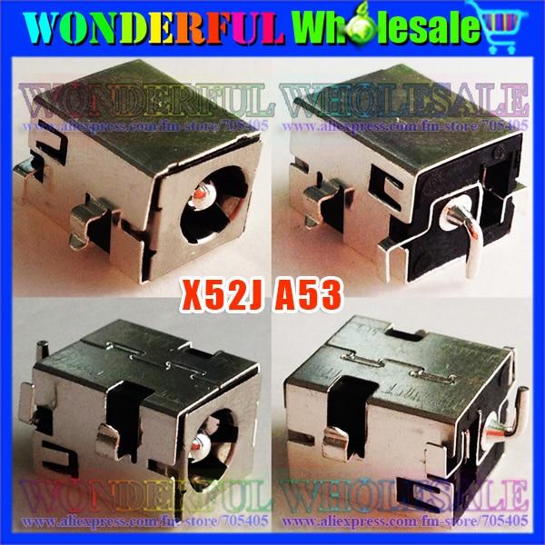 Freeshipping 2.5mm Laptop DC Jack,Power Socket for Asus X52J X52F A53 K52 K52JR K52F