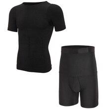 MISS MOLY Mens Compression Shirt Slimming Body Shaper for Men Seamless Tank Top Shapewear Vest Abs Abdomen Slim