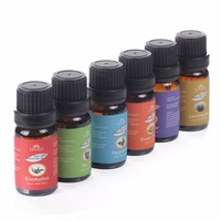 6 Pcs Set Gift Box 100 Pure 10ml Essential Oils For Bath Massage Spa Aromatherapy 6