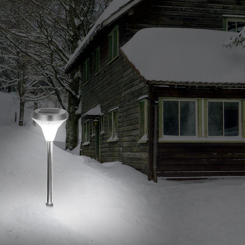 6000 - 7000K LED Solar Powered 21LED Warm White Lawn Light IP55 Waterproof Outdoor LED solar Garden Yard Landscape Lamp light 1w 78lm 7000k cool white light usb powered mini light emergency lamp blue