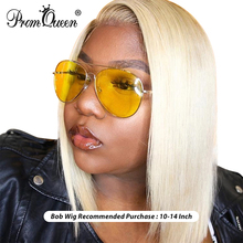 Brazilian Hair 613 Blonde Lace Front Wig Short Bob Lace Front Human Hair Wigs For Black Women 1B613,1B ,613 Lace Front Wig