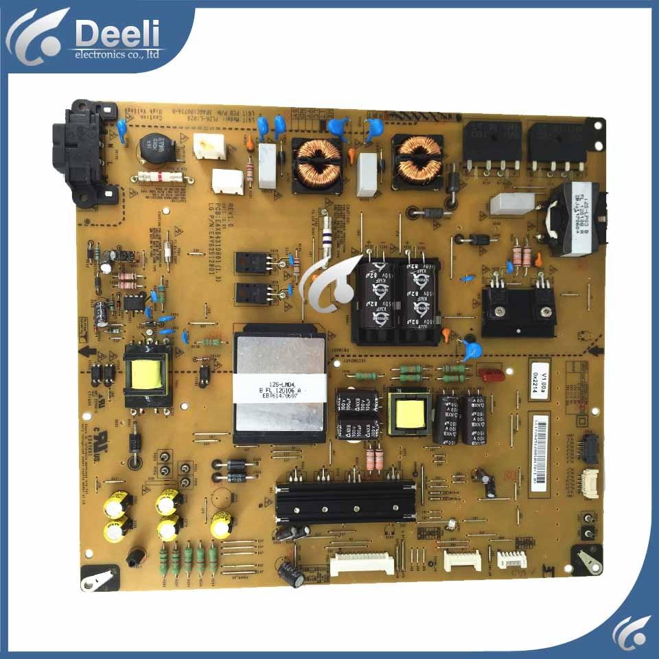 цена на 95% New Power Supply Board EAX64310801 EAY62512801 LGP55H-12LPB used board good Working