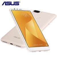 החדש Asus Zenfone 4S מקס פלוס X018DC פגסוס 4 גרם RAM 32 גרם ROM 5.7 inch אוקטה Core 3 מצלמות אנדרואיד 7.0 4130 mAh טלפון סלולרי חכם