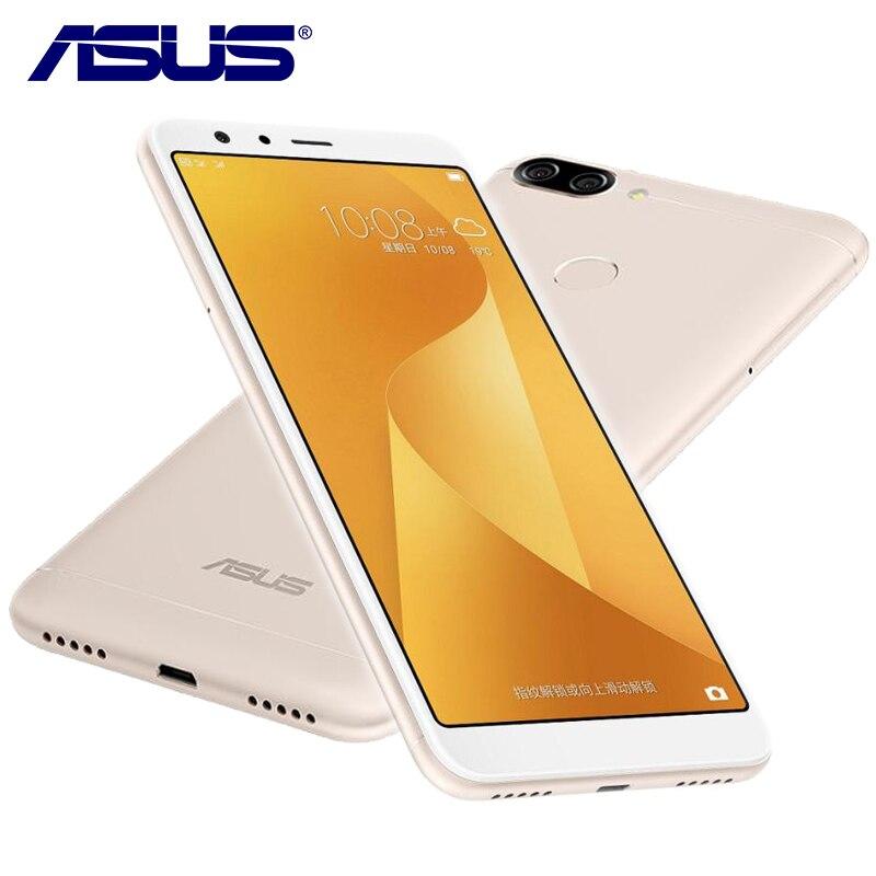 Nuevo Asus Zenfone Pegasus 4S Max Plus X018DC 4G RAM 32G ROM 5,7 pulgadas Octa Core 3 cámaras Android 7,0 de 4130 mAh Teléfono Móvil Inteligente