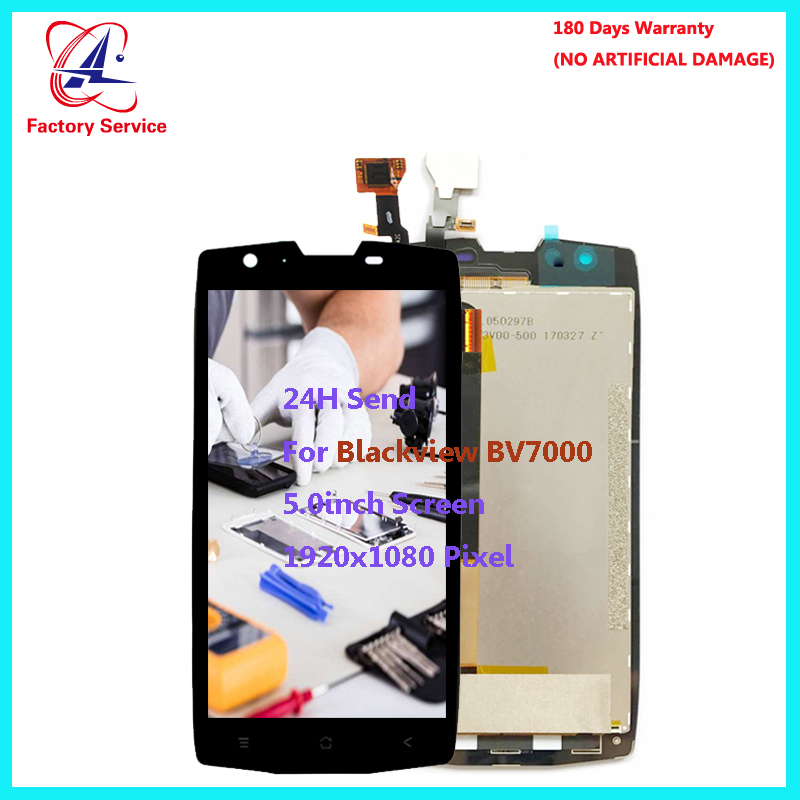 For Original Blackview BV7000 BV7000 Pro LCD Screen Display Touch Screen Digitizer Sensor Assembly Replacement 5 0 quot 1920x1080P in Mobile Phone LCD Screens from Cellphones amp Telecommunications