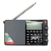 Rádio estéreo de afinação digital portátil da faixa completa do elevado desempenho de tecsun PL 880 com modos de fm de lw/sw/mw ssb pll (64 108mhz)