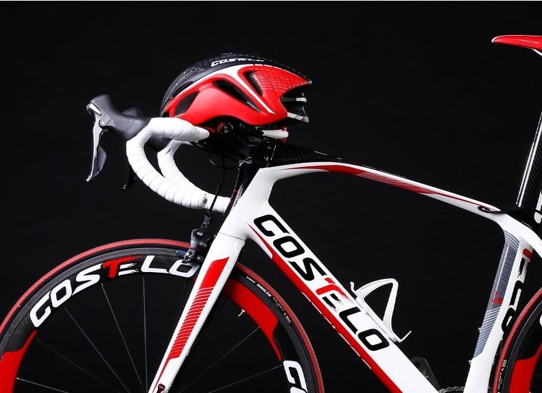 ФОТО Hottest Bicycle Helmet Cycling Bike Helmet MTB Road Special COSTELO Helmet Size M 54-62cm Free Shipping