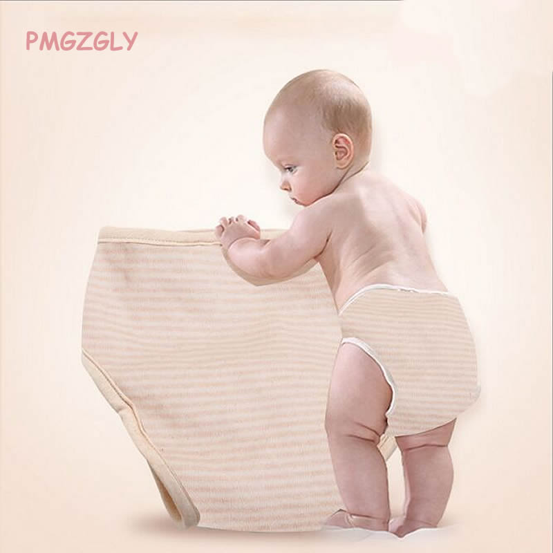 Nappy Soft Washable Reusable Infant Diapers Training Pants 100% Cotton Impermeable Diaper Cloth Diaper Breathable Pocket Diaper