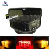 waase E Marked Rear Tail Brake Turn Signal License Plate Integrated Led Light For 2007 2008 2009 2010 2012 HONDA CBR600RR PC40
