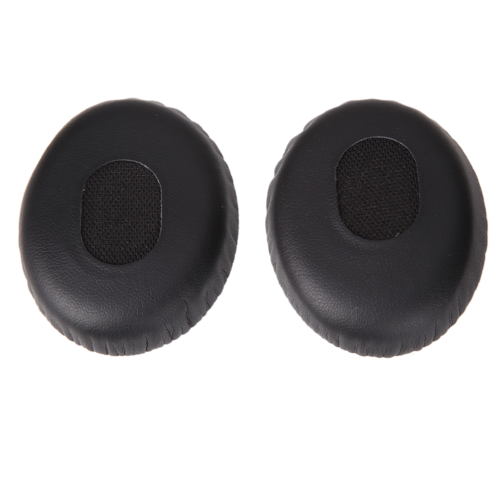 1 Pair Replacement Ear Pads Foam Cushion Earphone Earpads On-Ear Black Headphone for Bose Quiet Comfort QC3/BOSE ON EAR/OE jbl e50bt e50 bt synchros headphones replacement ear pad ear cushion ear cups ear cover earpads
