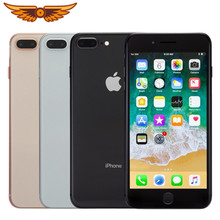 Orijinal Unlocked Apple iPhone 8 artı 5.5 inç Hexa çekirdek 3GB RAM 64GB ROM IOS LTE 3D dokunmatik çift arka kamera 12MP cep telefonu