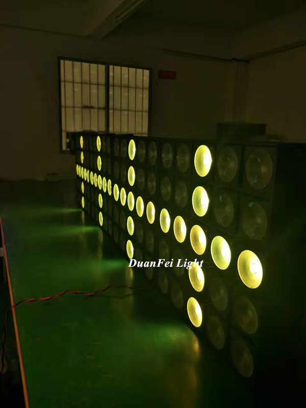 LED Blinder Light 5x5 rgb 3in1 led beam light build in program LED Matrix Light 25x30W
