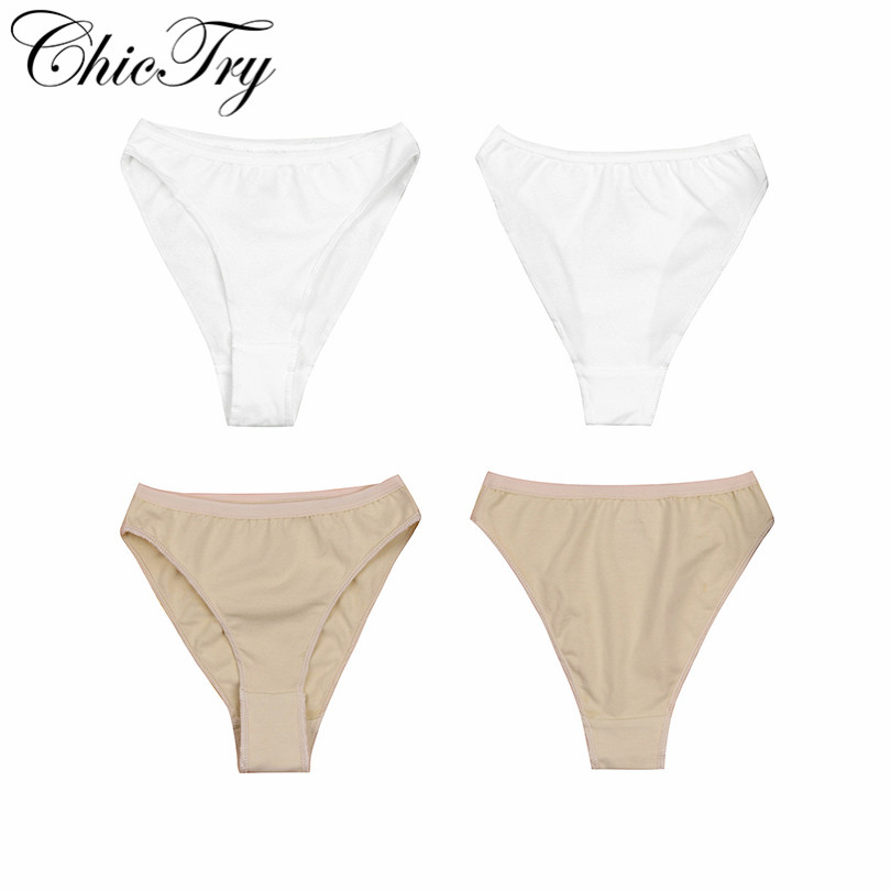 ChicTry 2-12Y Children Kids Ballet Dance Underwear Girls High Leg Cut Briefs Triangle Panties Underpants Ballet Dance Gymnastics