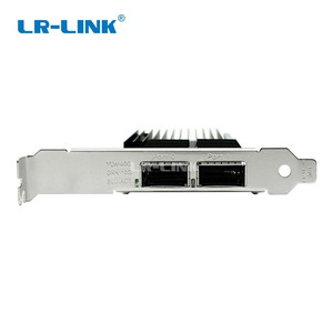 Image 4 - LR LINK 9902BF 2QSFP + 40 ギガバイト NIC PCI Express ネットワークカード繊維 PCI e 光学デュアルポートサーバアダプタ互換インテル XL710 QDA2